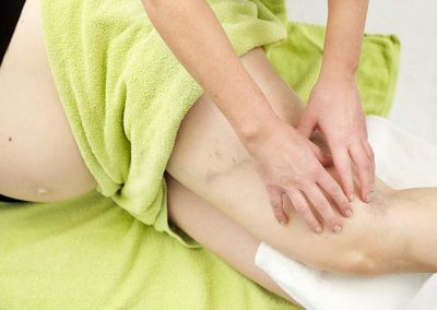 Spatadertherapie bij zwangerschap